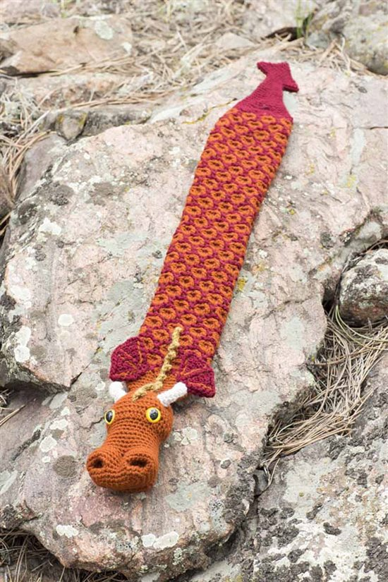 Crochet Ever After: Crocheted Dragon Cowl
