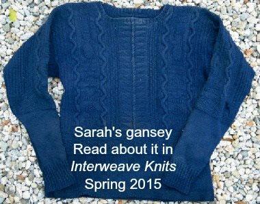 Knitted gansey