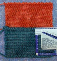Gauge And Yarn Substitution Interweave