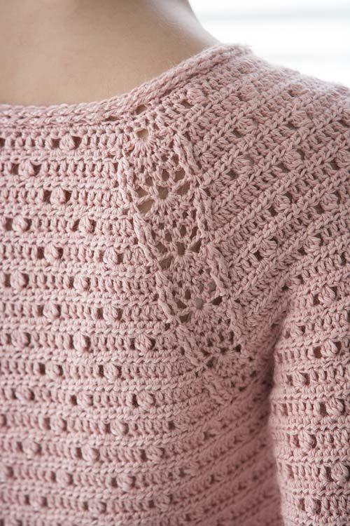 Blueprint Crochet Sweaters: Crochet Lace Pullover