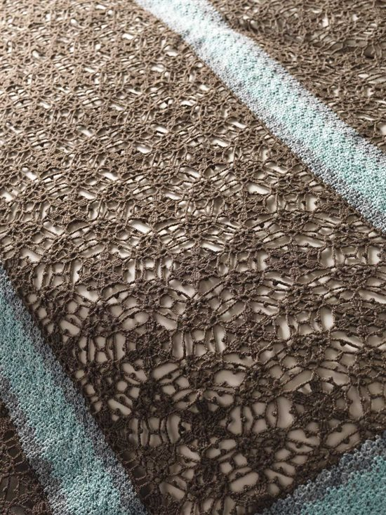Unexpected Afghans: Lace Crochet Afghan