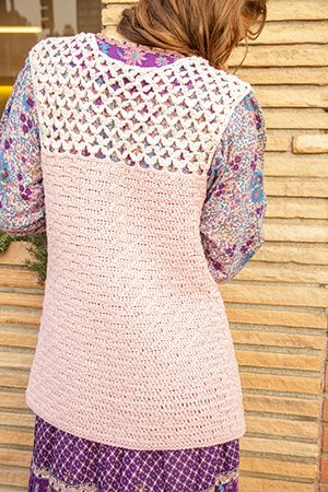 Tunisian Crochet Vest