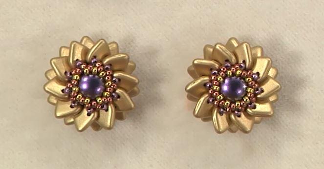2hole beaded beads cindy holsclaw