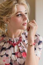 Cherry Blossom Necklace and Bracelet