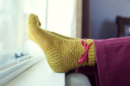 Twirl Socks Side
