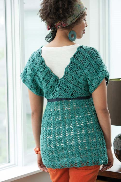 Blueprint Crochet Sweaters: Crocheted Tunic