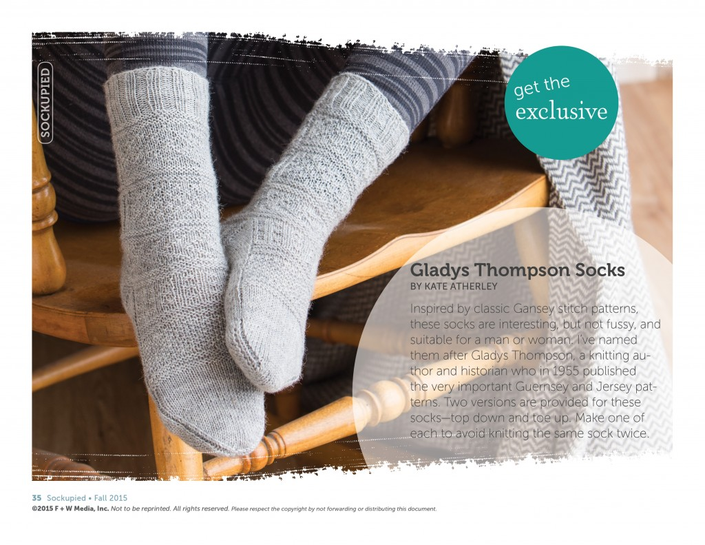 Best. Sock Knitting Patterns. Ever. You'll love the new Sockupied issue that has endless knitted sock ideas, so get yours today & fill up your sock drawer!