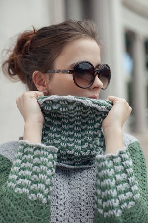 Ripplet Sweater Cowl