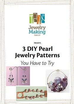 Learn how to make pearl jewelry in this FREE eBook that contains 3 DIY pearl jewelry projects and more.