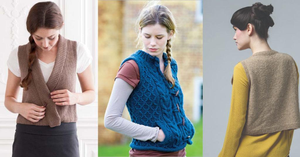 3 Favorite Vest Patterns for Fall
