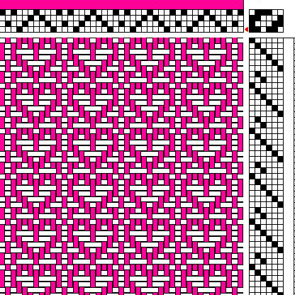 Valentine's Day Drafts and WIFs for Weavers | Interweave