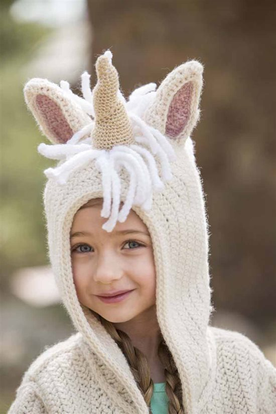 Crochet Ever After: Unicorn Crocheted Hoodie