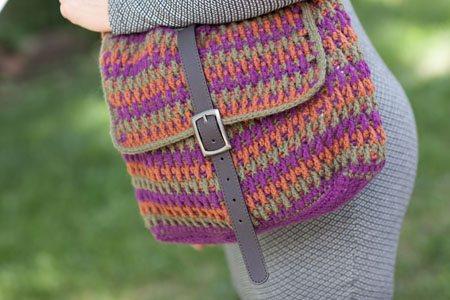 Crochet Post Stitch Bag
