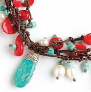 types of semi precious beads