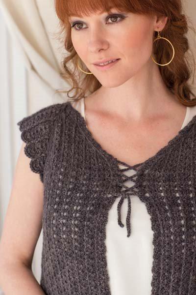 Crochet So Lovely: Crocheted Cardigan