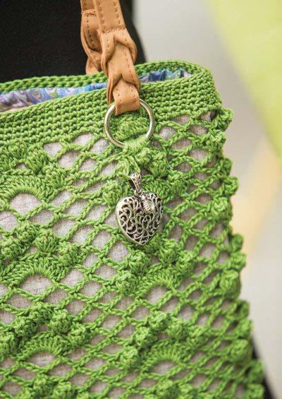 Colorful Crochet Lace: Lace Crochet Bag