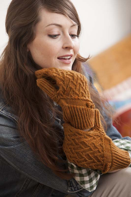 Gretels Mittens Perfect from One Skein Knitted Gifts to Give