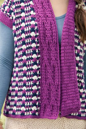 Crochet Cable Cardigan
