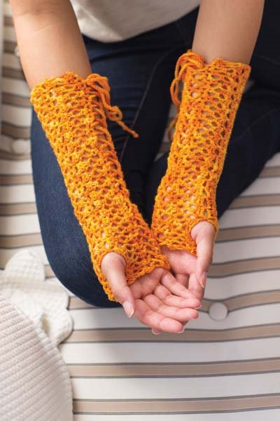 Crochet So Lovely: Lace Crochet Gauntlets