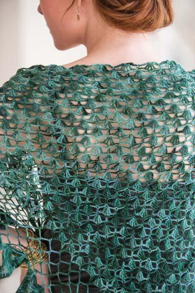 Crochet So Lovely: Crochet Broomstick Shawl