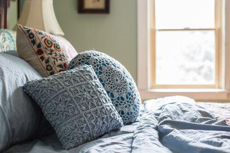 Starburst Pillow Closeup
