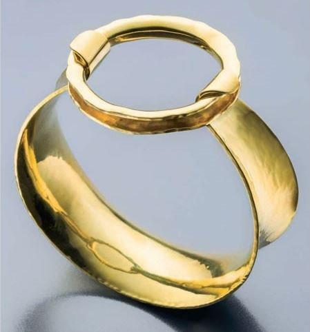 Torus Cuff Bracelet by Bill Fretz