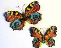 Exclusive: Karen Parker & Brick Stitch, Beaded Butterflies