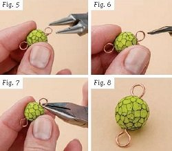Learn how to do wrapped wire loops in jewelry making the right way with these expert