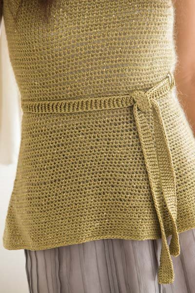 Crochet So Lovely: Mohair Crochet Tunic