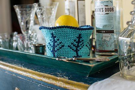 Evergreen Basket Filled