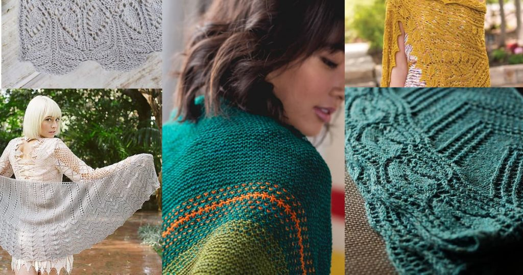 5 Knitted Shawl Patterns for People Who Don't Like to Wear Shawls