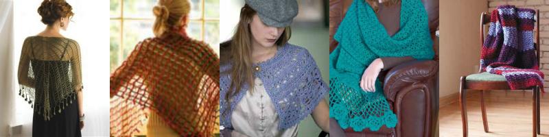 5 Beautiful Crochet Shawl Patterns | Interweave