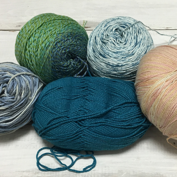 summer crocheting