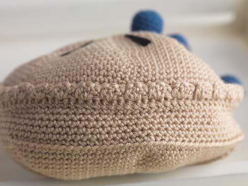 Crochet Blueberry Pie