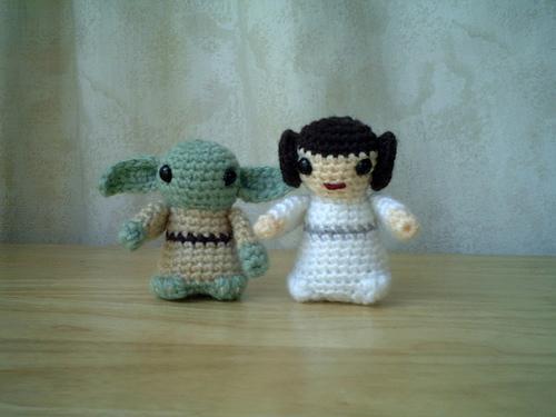 Yoda and Princess Leia