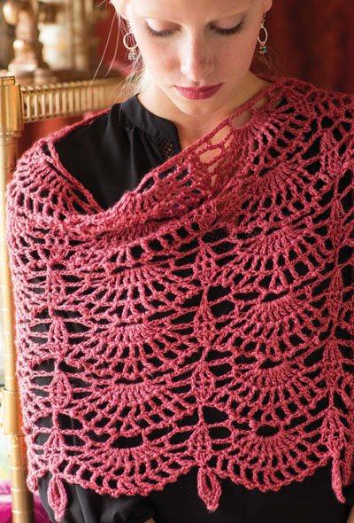 Colorful Crochet Lace: Crochet Wrap