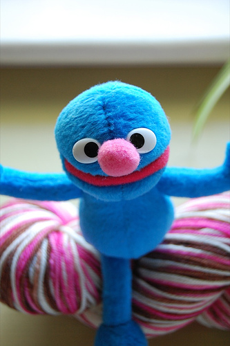 Grover Hugs Ya