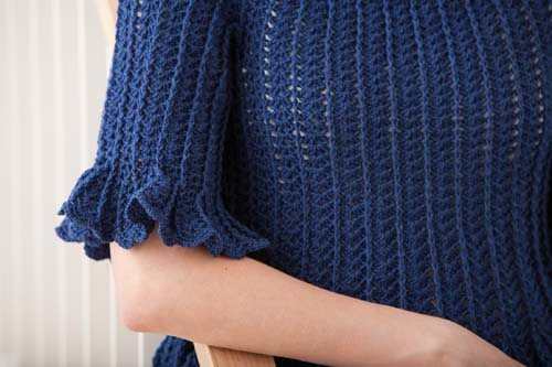 Blueprint Crochet Sweaters: Crocheted Top
