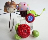 jewelry-making techniques: lampwork glass