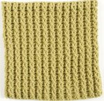 Learn how to do this double twist crochet afghan pattern.