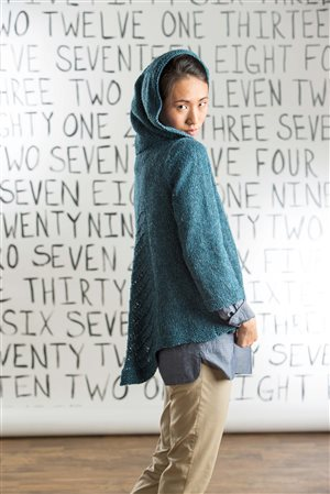 Amy Gunderson Swingback Hoodie knit.purl Spring/Summer 2015