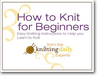 This is the ultimate guide on knitting for beginners and contains free knitting patterns.