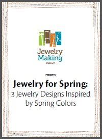 Jewelry for Spring: 3 free Jewelry Designs Inspired by Spring Colors and Flowers