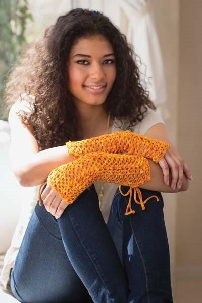 Crochet So Lovely: Lace Crochet Fingerless Mitts