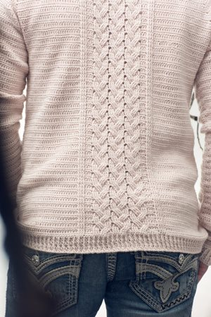 Telegraph Sweater Back