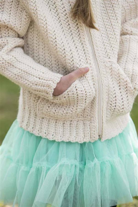 Crochet Ever After: Kids Crochet Hoodie