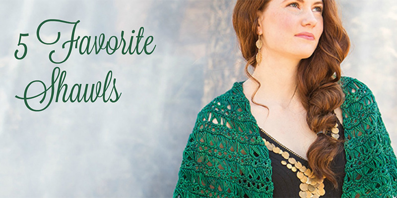 5 Favorite Crochet Shawls to Learn New Stitches