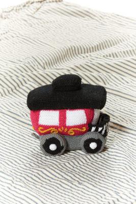 Circus Train Caboose knitting pattern designed by Megan Kreiner