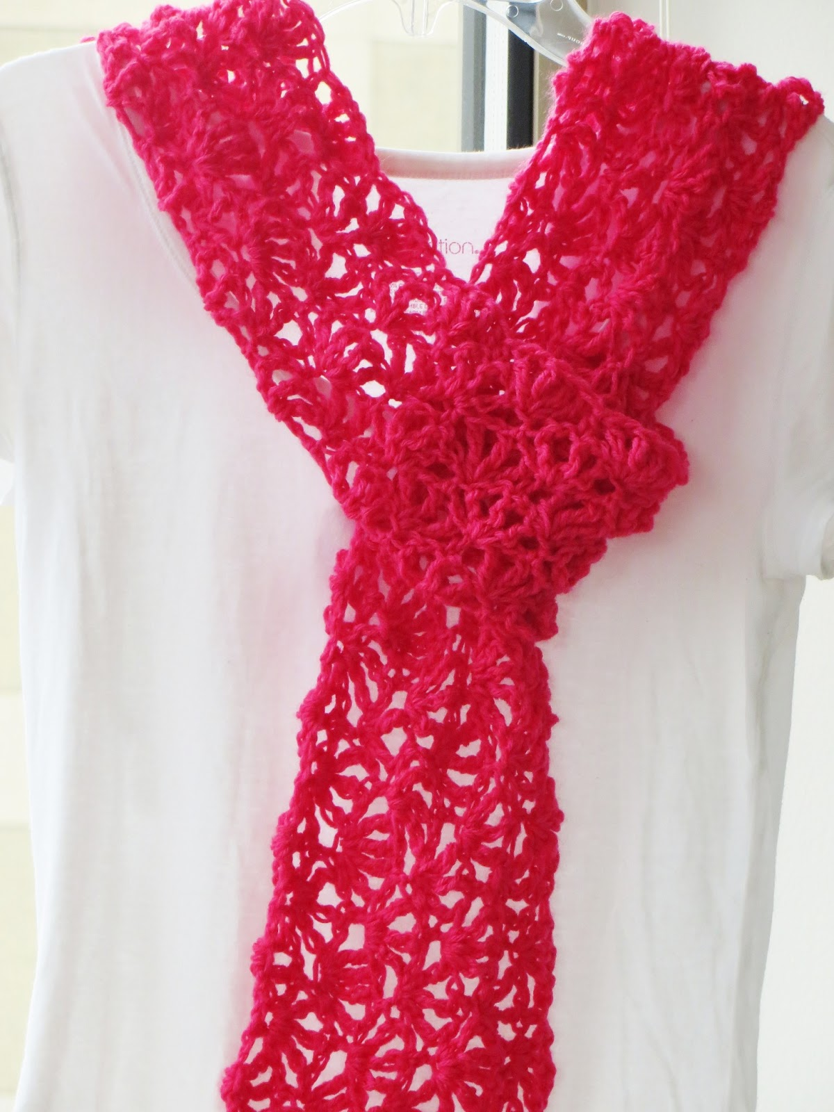 Alana Lacy Scarf For Summer Free Crochet Pattern For Mother S Day