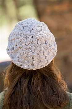Blocking Berets with Dinner Plates—it's a knitting thing